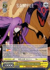 FGO/S75-E007S SR The Goddess of Revenge, Gorgon