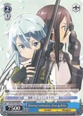 Sterben Death Gun SAO//SE23-E09 R Foil 1x Near Mint Weiss Schwarz