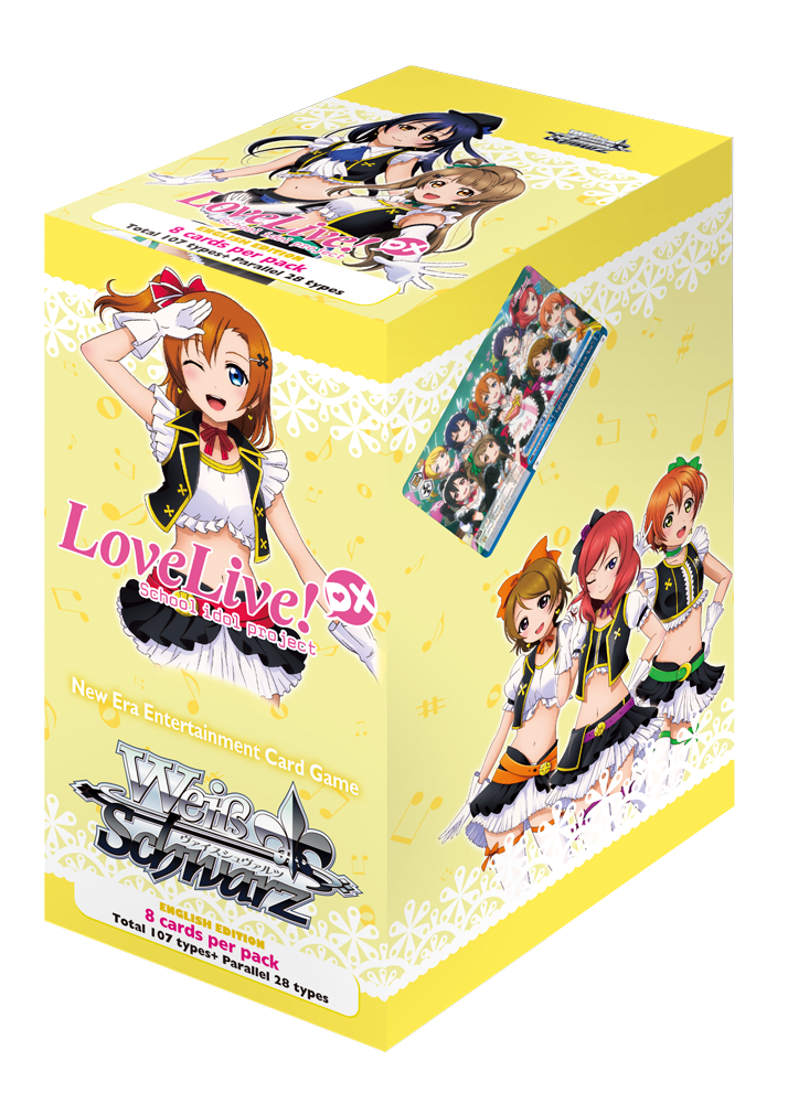 Love Live DX Booster Box (English Edition)