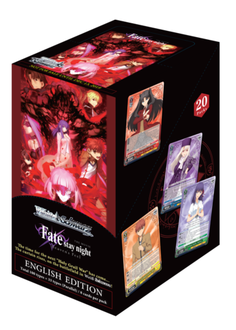 Fate Stay Night Heavens Feel Booster Box (ENGLISH)