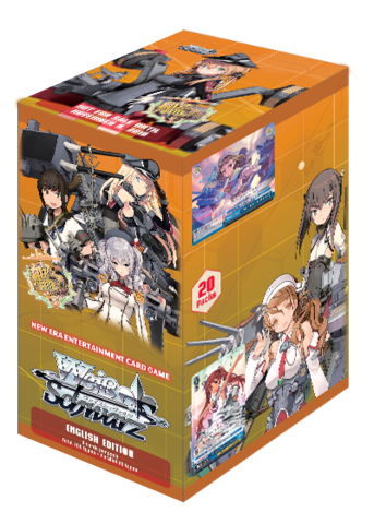 Kantai Collection Arrival! Reinforcement Fleets from Europe Booster Box