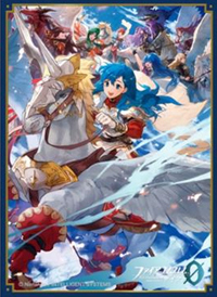 Fire Emblem Cipher Matte Card Sleeve Caeda No. FE104