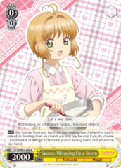 CCS/WX01-006 R  Sakura: Whipping Up a Storm