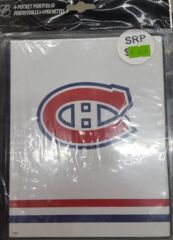 Ultra Pro 4-Pocket Portfolio - NHL Montreal Canadiens