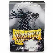 Dragon Shield Japanese Sized Card Sleeves (60 Ct)- Matte Slate