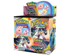 Sun & Moon 12 Cosmic Eclipse Booster Box