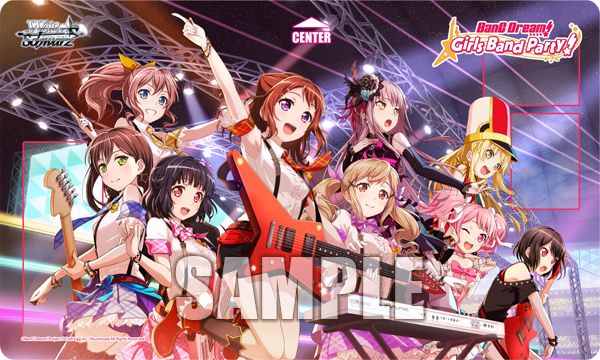 Weiss Schwarz BanG Dream! Girls Band Party! Playmat (Case Exclusive)