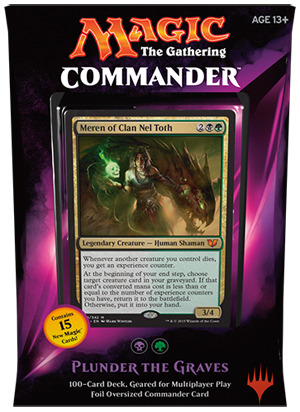 Commander Deck 2015 Plunder the Graves - Magic Products » Commander