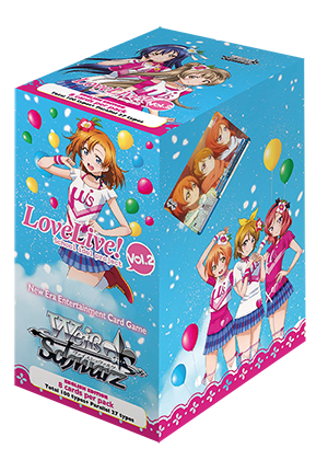 Love Live Volume 2 Ver E. Booster Box