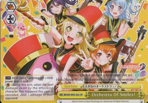 BD/EN-W03-023 CR Orchestra of Smiles!