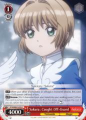 CCS/WX01-070 C  Sakura: Caught Off-Guard