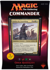 Commander Deck 2016 Open Hostility