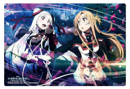 Bushiroad Rubber Mat Collection Vol. 104 Sword Art Online The Movie -Ordinal Scale- Asuna & Yuna