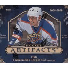 2008/09 Upper Deck  Artifacts Box (10 Packs)