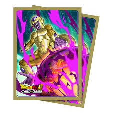 Ultra Pro Dragon Ball Super Card Game Deck Protector Sleeves (65 ct) - Golden Frieza