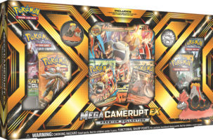 Mega Camerupt EX Premium Collection