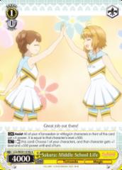 CCS/WX01-014b U  Sakura: Middle School Life