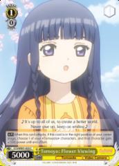 CCS/WX01-023 C  Tomoyo: Flower Viewing