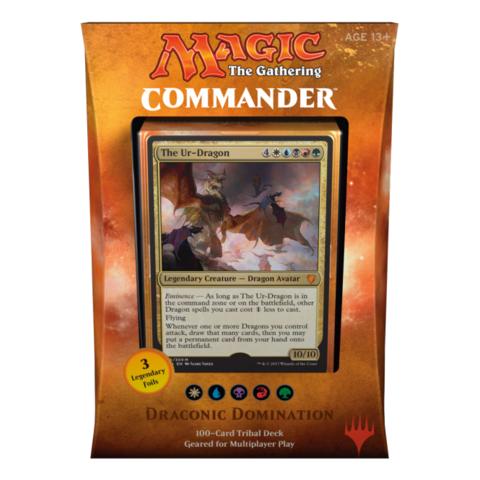 Commander Deck 2017: Dragonic Domination - Magic Products
