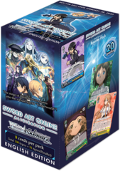 Sword Art Online Alicization Booster Box (English Edition)