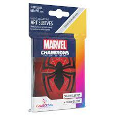 GAMEGENIC Marvel Champions Art 50 ct. Sleeves (91mm x 66mm) - Spider-Man