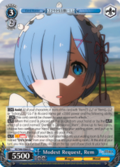 RZ/S46-E069 R  Modest Request, Rem