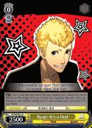 P5/S45-011 U Ryuji: It's a Deal