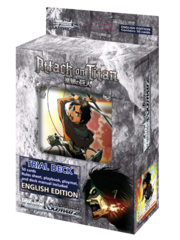 Attack on Titan Trial Deck (English Edition)