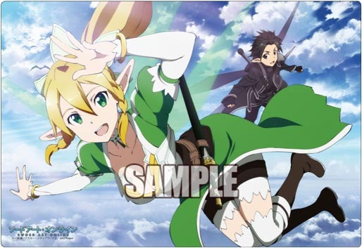 Bushiroad Rubber Mat Collection Vol. 07 Sword Art Online Leafa