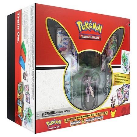Super Premium Collection Mew & Mewtwo - Pokemon Products