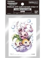 Digimon TCG Sleeves - Digi Eggs