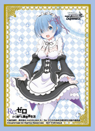 Bushiroad Point Redemption Re:Zero TD Plus Rem Sleeves (55 ct.)