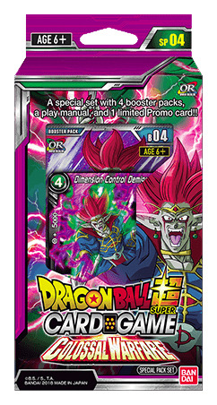 Special Pack Set SP04 Colossal Warfare Dragon Ball Super Card Game