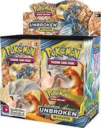 Sun & Moon 10 Unbroken Bonds Booster Box
