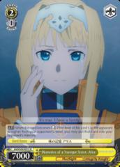 SAO/S65-E013 U  Memories of a Younger Sister, Alice