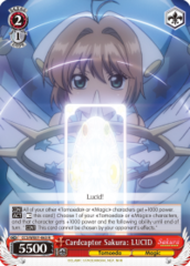 CCS/WX01-063 R  Cardcaptor Sakura: LUCID