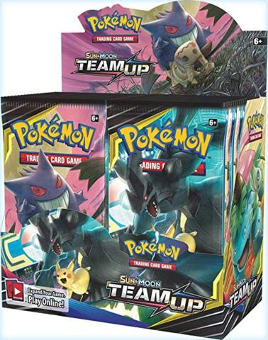 Sun & Moon 9 Team Up Booster Box