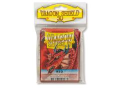 Dragon Shield Standard Card Sleeves (50 ct) - Red