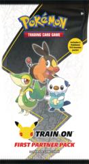 First Partner Pack - Unova (3x oversize cards + 2x booster packs)