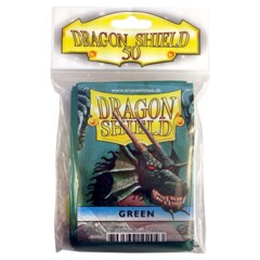 Dragon Shield Standard Card Sleeves (50 ct) - Green