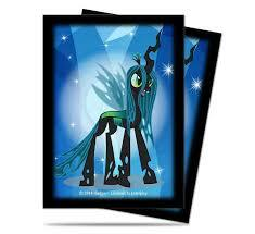 Ultra Pro Standard Deck Protector Sleeves (65 ct) - My Little Pony Queen Chrysalis