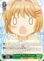 CCS/WX01-044 C  Sakura: Not a Polyglot