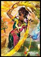 MAGIC: The Gathering Players Card Sleeve WAR of the Spark Saheeli, Sublime Artificer MTGS-103