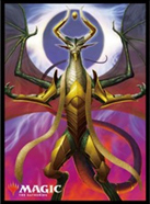 MAGIC: The Gathering Players Card Sleeve WAR of the Spark Nicol Bolas, Dragon-God MTGS-098