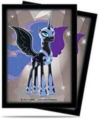 Ultra Pro Standard Deck Protector Sleeves (65 ct) - My Little Pony Nightmare Moon