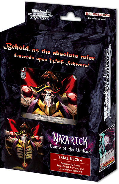 Nazarick: Tomb of the Undead Trial Deck Plus (English Edition)