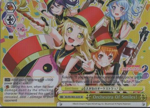 BD/EN-W03-023S SR Orchestra of Smiles!