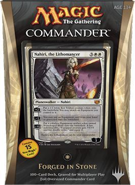 Commander Deck 2014 Forged in Stone