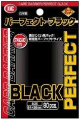 KMC Standard Sized Black Perfect Fit (80 Ct)