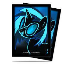 Ultra Pro Standard Deck Protector Sleeves (65 ct) - My Little Pony DJ Pon-3
